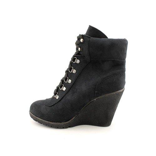 XOXO Frauen Gwen Geschlossener Zeh Wildleder Fashion Stiefel Black