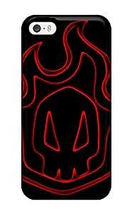 New Style Iphone 5/5s Bleach Print High Quality Tpu Gel Frame Case Cover 1104405K60517759
