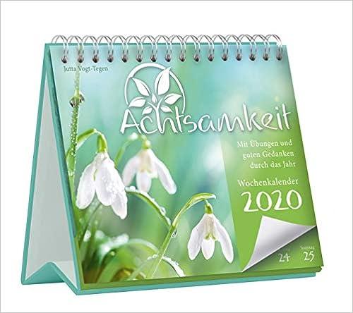 Télécharger des livres Achtsamkeit Wochenkalender 2020