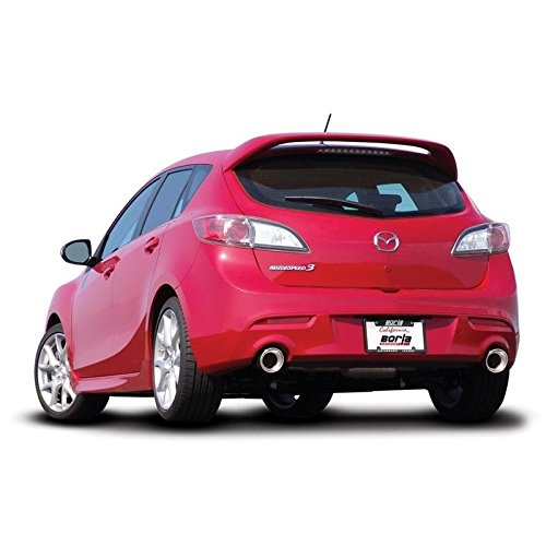 Amazon.com: Borla 10-13 Mazda 3/Mazdaspeed 3 2.5L/2.3L Turbo FEW MT Hatchback SS Exhaust (rear section only) (11786): Automotive