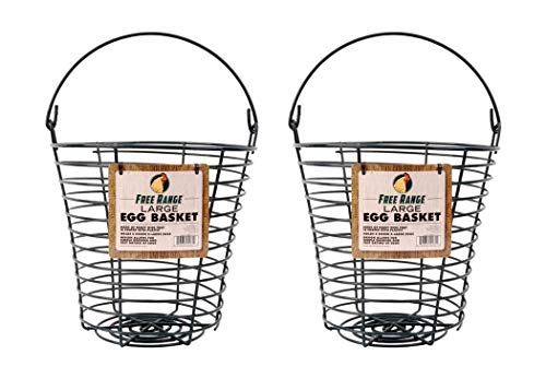 Harris Farms Egg Collecting & Washing Basket, Large - Pack of 2
