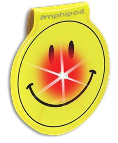 Amphipod Vizlet Wearable Smiley Face LED Reflector Clip -