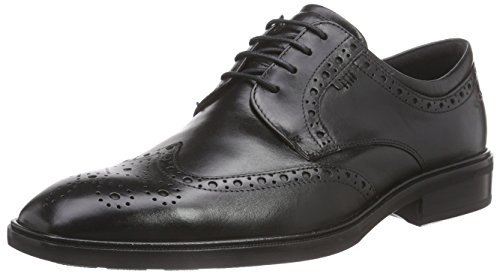 view sale online ECCO Men's Illinois Wing Tip Oxford Black very cheap free shipping visit outlet countdown package how much cheap online JKcSOfjg