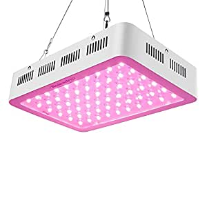 Roleadro Upgraded and Newly Development LED Grow Light, 5W Series 300W Full Spectrum Plant Lamp for Greenhouse Hydroponic Indoor Plants from Seed to Veg and Flower