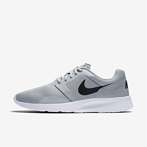 5db31f1d64b37 NIKE Kaishi NS Mens Gray Mesh Athletic Lace Up Running Shoes 9