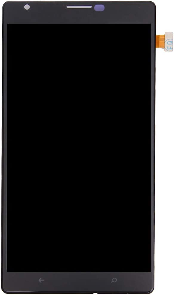 Color : Black MAYOFO Good Quality.LCD Screen and Digitizer Full Assembly for Nokia Lumia 1520 Black