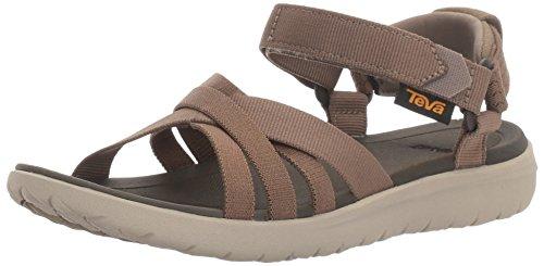 (Teva Women's W Sanborn Sandal, Walnut, 9 M US)