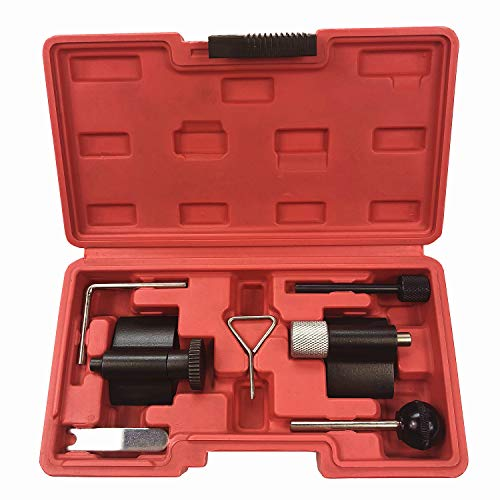 Best Q Diesel Engine Timing Cam Camshaft Alignment Crank Locking Tool Set for VW Audi SEAT Skoda with 1.9L 2.0LTDI PD DOHC Engine