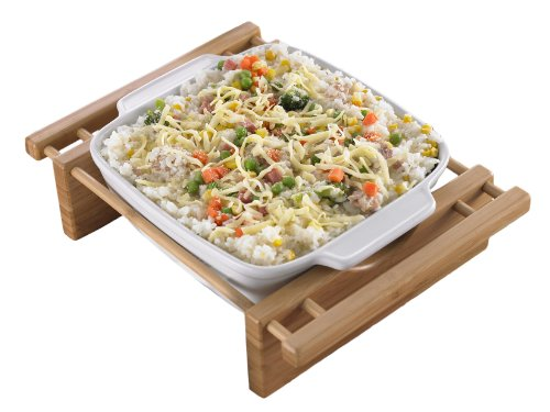 Creative Home 73456 9-Inch Square Grand Buffet Dish