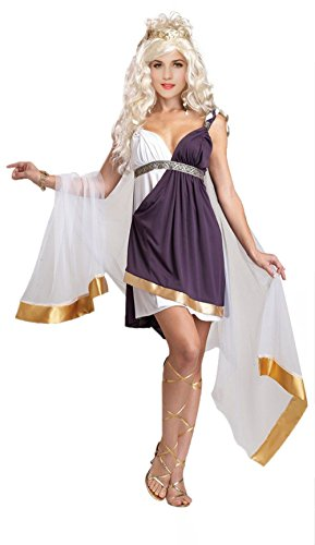 Golden Goddess Egyptian Costume (Greek Goddess Costume - Sexy Golden Egyptian Goddess Costume for Women)