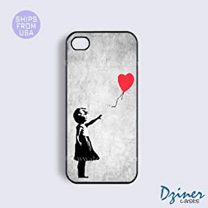 iPhone 6 Tough Case - 4.7 inch model - Vintage Banksy Girl iPhone Cover