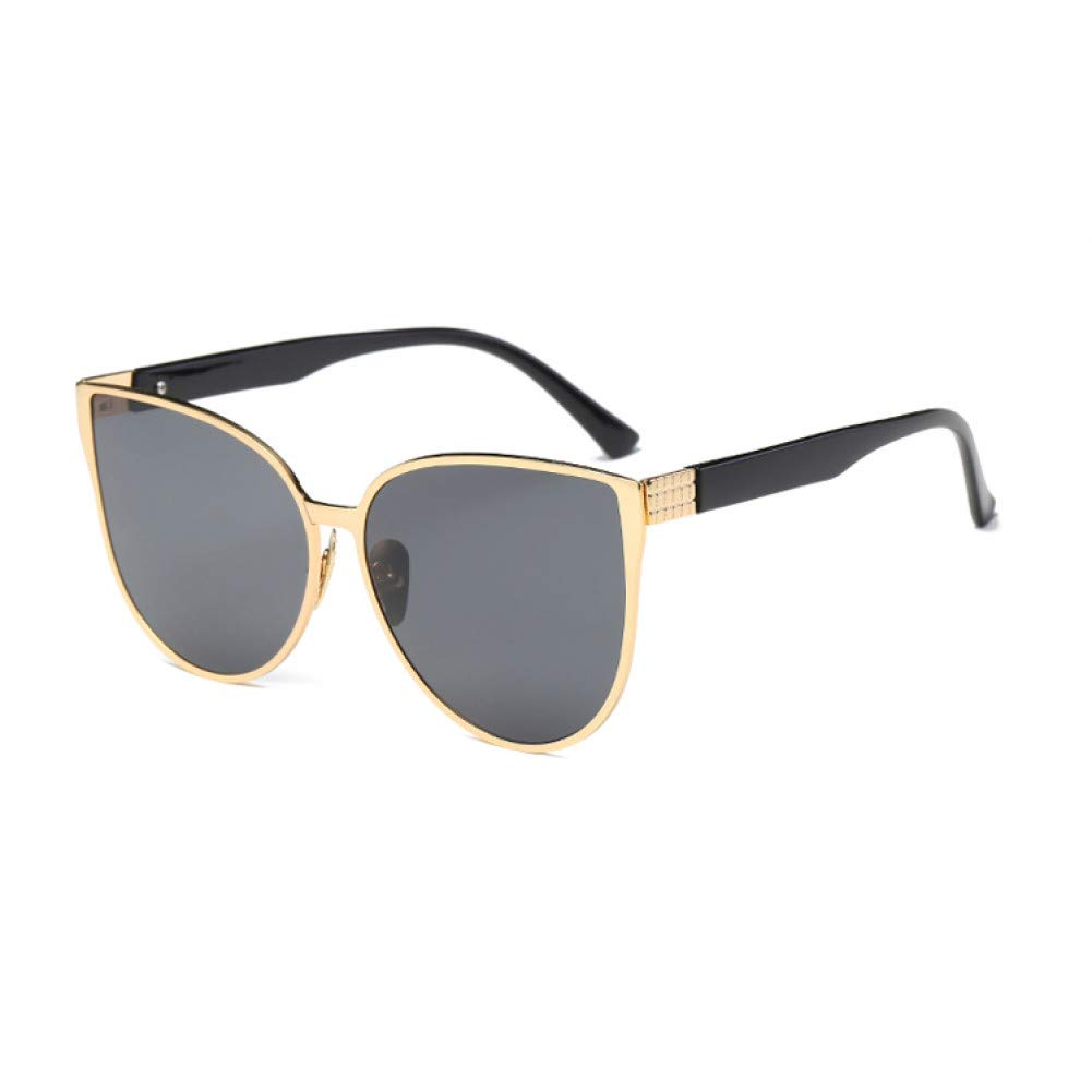 8d5e727390c78 Amazon.com   ZMYJX Sunglasses New Cat Eye Sunglasses Women Fashion Summer  Style Big Size Frame Mirror Sunglasses Female   Sports   Outdoors