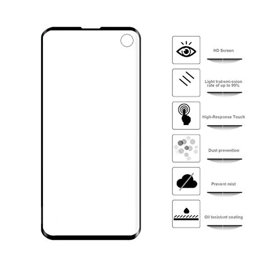 Cyhulu 2019 New Premium Clear Transparent PET Film Screen Protector Accessories for Samsung Galaxy S10 6.1 inch Phone by Cyhulu (Image #1)