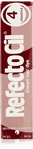 REFECTOCIL Cream Hair Tint Chestnut .5 oz (Best Eyebrow Color For Red Hair)