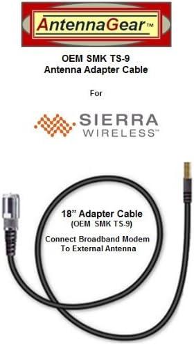 OEM SMK TS-9 Sprint Sierra Wireless 250U USB Modem External Antenna Adapter Cable