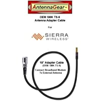 OEM AT&T Sierra Wireless Shockwave USB308 USB Modem External Antenna Adapter Cable - OEM SMK TS-9