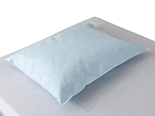 - Medline NON24346 Disposable Tissue/Poly Pillowcases, 21