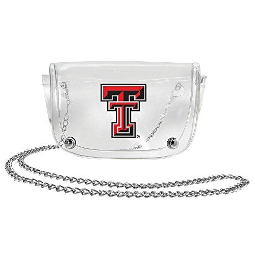 (NCAA Texas Tech Red Raiders Clear Carryall Crossbody)