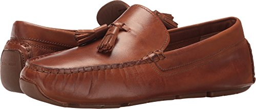 Cole Haan Women's Rodeo Tassel Driver Loafer, Luggage Leather, 8 B USLuggage Leather8 B - Driving Women Shoes Cole Haan