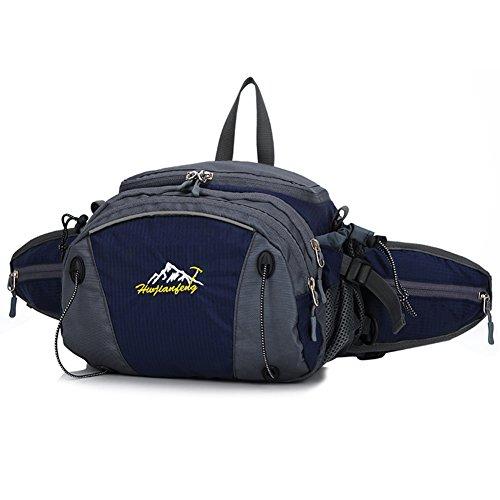 Bolsa de deporte/Bolsillos de ocio al aire libre/Los bolsillos de seguridad resistente al agua capacidad-azul azul marino
