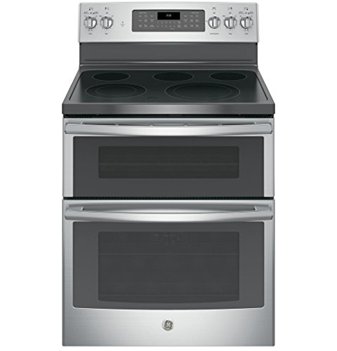 GE JB860SJSS Electric Smoothtop Double Oven Range ()