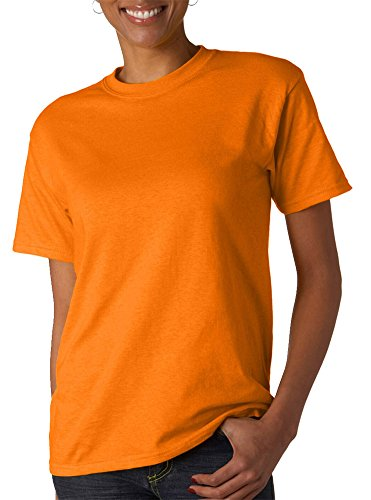 Jerzees Adult Hidensi-T T-Shirt, Tennessee Orange, - Tennessee Premium Outlets