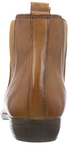 Inuovo STALKER - botines chelsea de cuero mujer marrón - Braun (COCONUT-COCONUT ELASTIC)