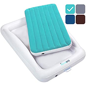 Amazon.com: hiccapop Inflatable Toddler Travel Bed with ...
