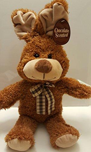 Brown Plush Rabbit Bunny Plush Chocolate Scented Stuffed Animal Measures 19