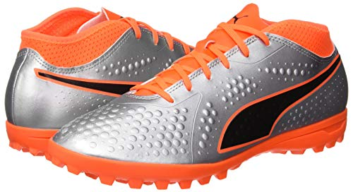 One puma De 01 Puma 4 choquant Argent Orange Syn Chaussures Silver Noir Pour Tt Soccer puma Hommes gqBAxq