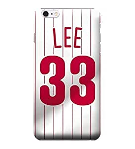 Case Cover For SamSung Galaxy S4 Mini Case, MLB - Philadelphia Phillies #33 Cliff Lee - Case Cover For SamSung Galaxy S4 Mini Case - High Quality PC Case