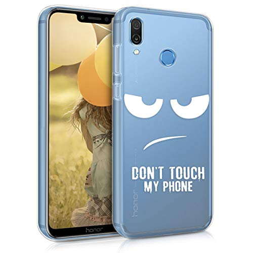 kwmobile TPU Silicone Case for Huawei Honor Play - Crystal C