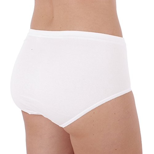 3 Paquete Bragas Nº 330 (bombachas, calzones) (2090) Blanco