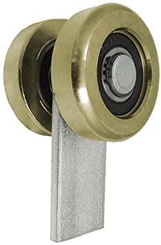 zabi rollo carro con 2 ruedas de metal con plano hierro para perfiles 60 x 60 grosor 3 mm puertas correderas (: Amazon.es: Bricolaje y herramientas