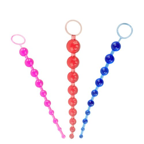 ULTRA DNA® 10 Бусы Оргазм Влагалище Butt Великие анальную пробку Мячи тянуть цепь Стимулятор для взрослых Секс игрушки с эротическим Dice