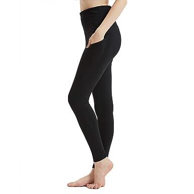 5cf133e8a82 Amazon.com  Byinns Plus Size Yoga Pants with Out Pockets Tummy ...