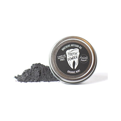 - Brothers Artisan Oil Activated Charcoal Tooth Powder | Organic Mint