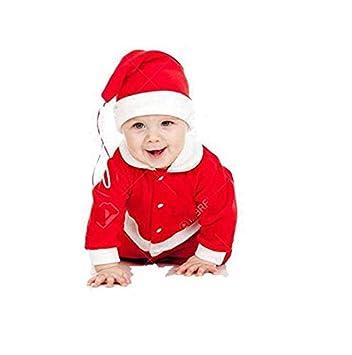 Santa Claus Body Costume Newborn Infant T-Shirt
