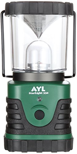 AYL Starlight - Water Resistant - Shock Proof - Battery Powered Ultra Long Lasting Up to 6 Days Straight - 600 Lumens Ultra Bright LED Lantern - Perfect Camping Lantern for Hiking, Camping