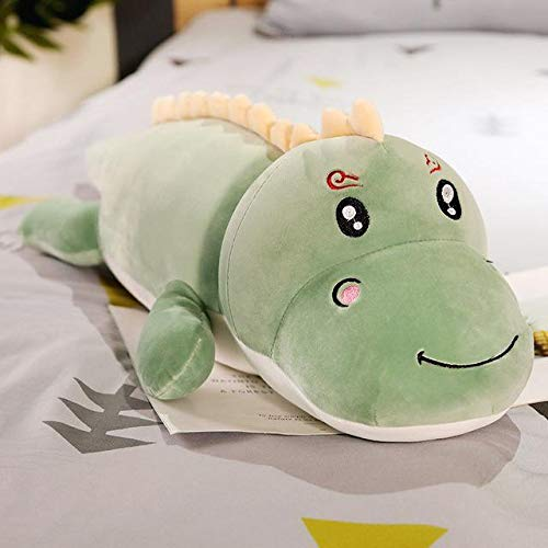 I Love T-Shirt Hot Big Size Long Lovely Dinosaur Plush Toy Soft Cartoon Animal Dinosaur Stuffed Doll Boyfriend Pillow Kids Girl Birthday Gift Toddler Must Haves Friendship Gifts Toddler Favourite by I Love T-Shirt