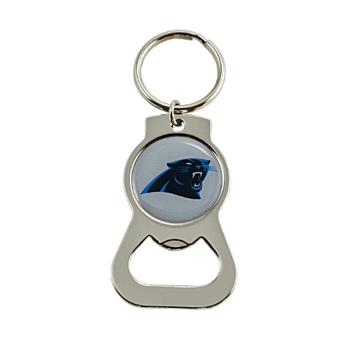 NFL Carolina Panthers Bottle Opener Key Ring ()