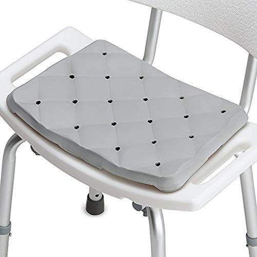 Shower Bench Bath Seat Cushion Waterproof - Foam Bath Cushion for Transfer Benches & Standard Bath Seats - Kneeling Pad, Kneeling Mat, Bath Kneeler