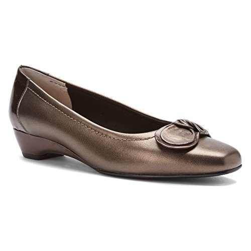 Mark Lemp Classics Women's Bean Bronze Kid 8 S from Mark Lemp Classics