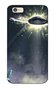 AiyCzTC3545mcCQA New Premium Flip Case Cover Ufo Skin Case For Iphone 6 As Christmas's Gift