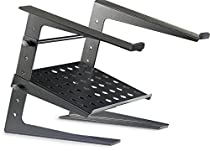 Stagg DJS-LT20 Professional DJ Laptop Stand with Lower Support Shelf