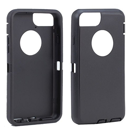 TPE Silicone Outer Skin Replacement for Otterbox Defender Series Case Cover iPhone 6/iPhone6s (Black Outer Skin Only)