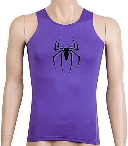 タンクトップ メンズ メンズスリム用ベストスポーツ速乾性の服タイトな通気性の吸上ベストスポーツトップ 夏 スポーツ フィットネス (色 : C7, Size : XXL)