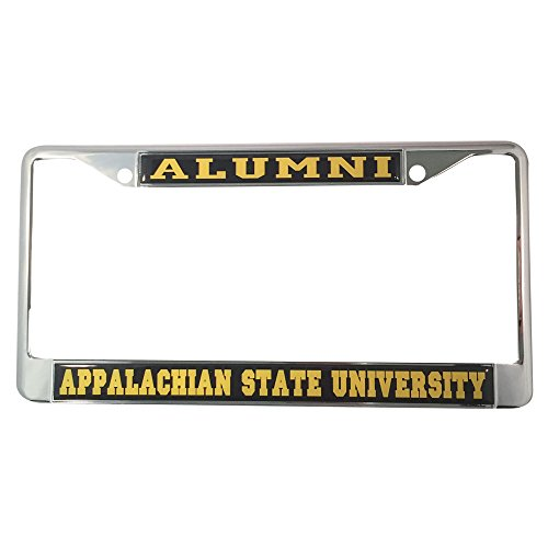 Appalachian State University License Plate Frame/Tag For Front Back of Car Officially Licensed (Alumni - Metal - Veterans New Orleans Ford