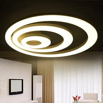 WEIAN Moderne Led Licht Deckenleuchte Führte Kreis Ring Lampe Deckenleuchten  Für Wohnzimmer Schlafzimmer 2/3