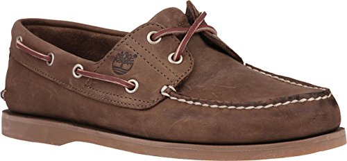 Timberland Men's Classic Boat Classic 2 Eye,Gaucho Roughcut Leather,US 9 M